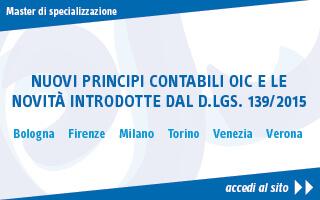 Nuovi principi contabili OIC e le novità introdotte dal D.Lgs. 139/2015