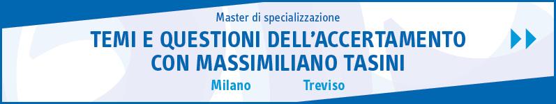 Temi e questioni dell'accertamento con Massimiliano Tasini