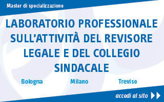 Laboratorio professionale sull'attività del revisore legale e del collegio sindacale