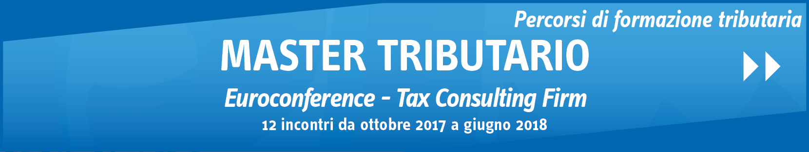 Master Tributario Euroconference – Tax Consulting Firm