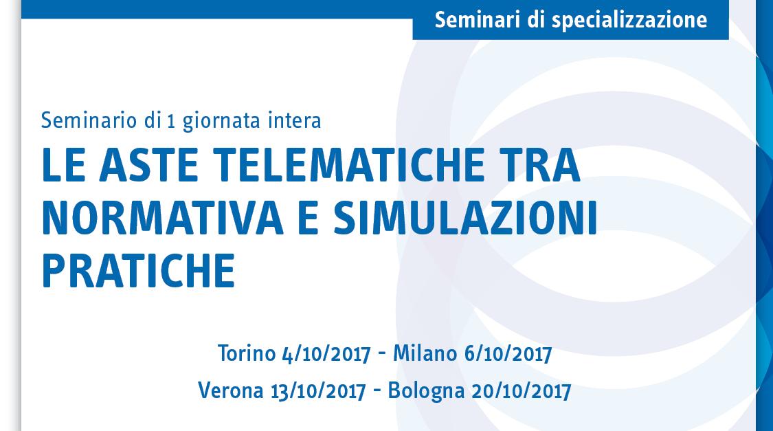 Le aste telematiche tra normativa e simulazioni pratiche