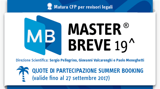 Master breve summer booking