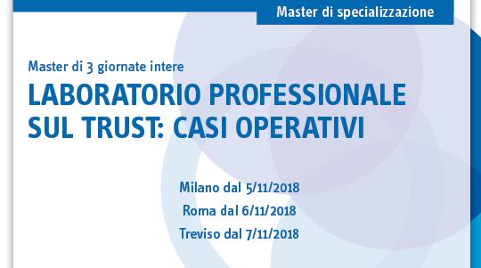 Laboratorio professionale sul trust: casi operativi