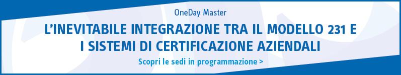L'inevitabile integrazione tra il Modello 231 e i sistemi di certificazione aziendali