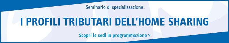 I profili tributari dell'home sharing