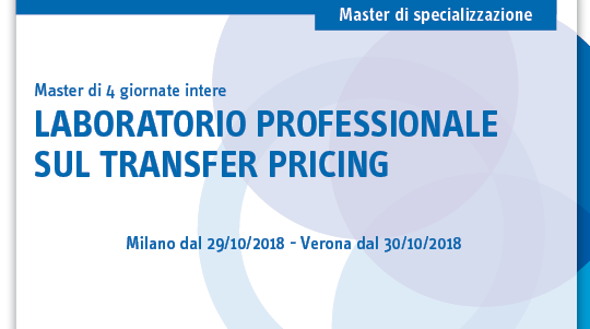 Laboratorio professionale sul Transfer Pricing