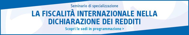 La fiscalità internazionale nella dichiarazione dei redditi