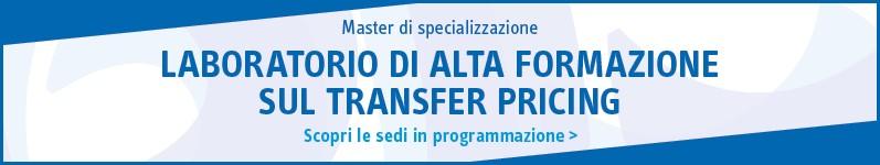 Laboratorio di alta formazione sul Transfer Pricing