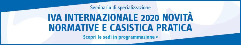 IVA internazionale 2020 novità normative e casistica pratica
