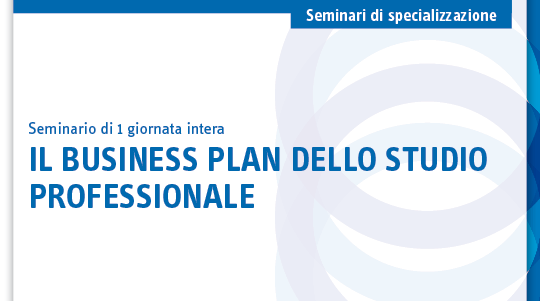 Il business plan dello studio professionale