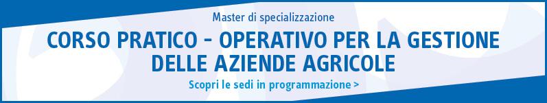 Corso pratico – operativo per la gestione delle aziende agricole