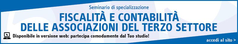 Fiscalità e contabilità delle associazioni del terzo settore