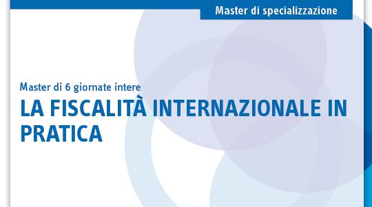 La fiscalità internazionale in pratica