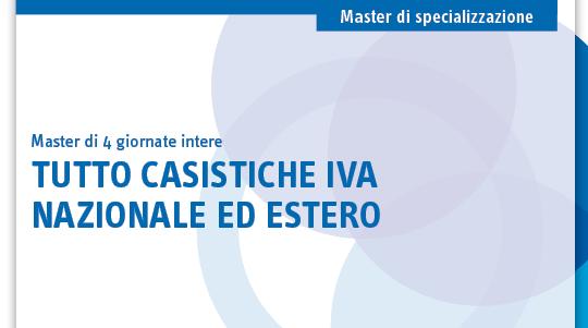 Tutto casistiche IVA nazionale ed estero