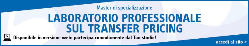 Laboratorio professionale sul Transfer Pricing