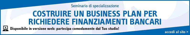 Costruire un business plan per richiedere finanziamenti bancari