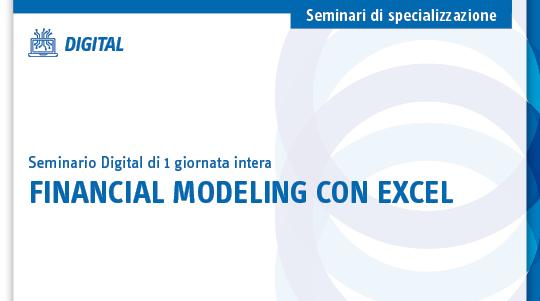 Financial modeling con excel