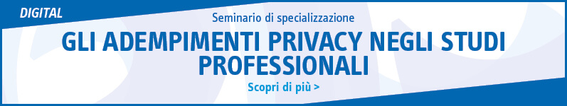 Gli adempimenti privacy negli studi professionali