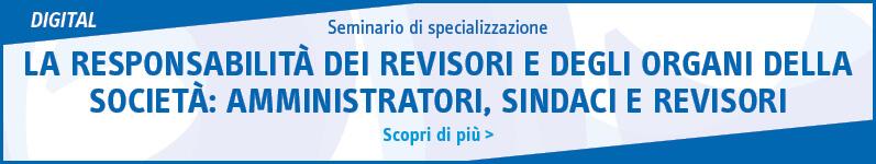 La responsabilità dei revisori e degli organi della società: amministratori, sindaci e revisori