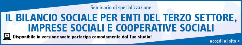Il bilancio sociale per enti del terzo settore, imprese sociali e cooperative sociali