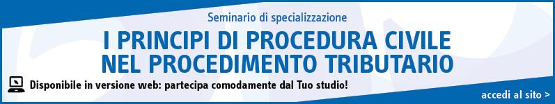 I principi di procedura civile nel procedimento tributario